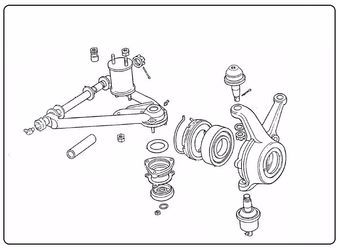 Used spare parts : Wheels and direction