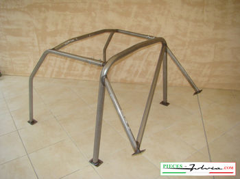 Roll-bar 6 points Lancia Fulvia coupe all models