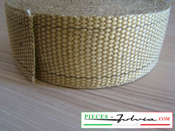 Exhaust wrap for thermical protection