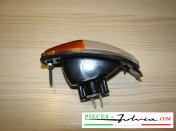 Front turn signal light full Lancia Fulvia Coupé serie 1 all models