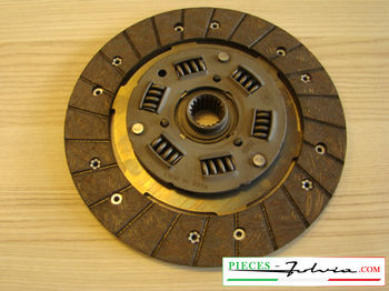 Clutch Kit Lancia Fulvia 1300 5 gears serie 2 and 3