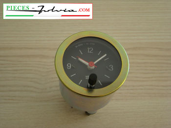 Dashboard clock VEGLIA BORLETTI for Lancia Fulvia coupe serie 1