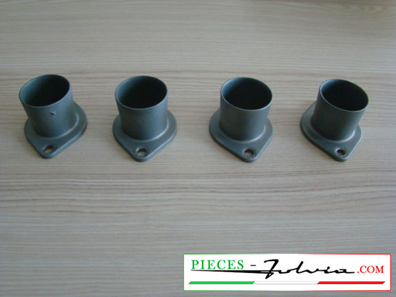 Set of 4 used intake trumpets Lancia Fulvia 1300 all models