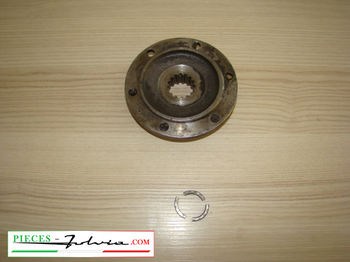 Flange of gearbox exit left side Lancia fulvia serie 2 all models