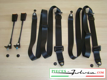 Kit static belts for Lancia Fulvia Coupe all models