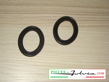 Pair of wiper base seals Lancia Fulvia all models
