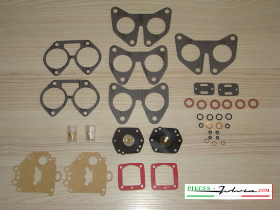 Complete gasket kit for carburetors solex 35 PHHE 3 Lancia Fulvia 1300