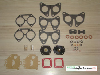 kit carburatore solex 32 lancia fulvia gasket complet 2 pieces kit*