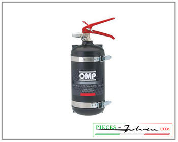Manual FIA liquid fire extinguisher OMP AFFF 2.4 Liters