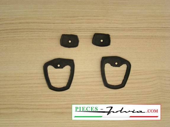 Set of door handles seals Lancia Fulvia coupe all models