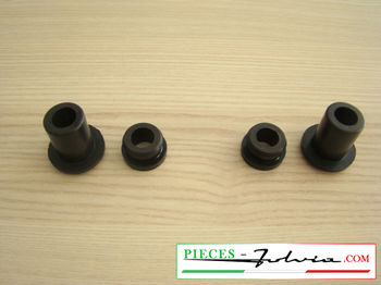 Set of silentblocs wiper arm holders Lancia Fulvia