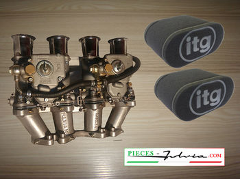 Kit carburettors Weber 40 DCOE for Lancia Fulvia 1300