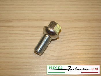 Spherical steel wheel bolt hexagon key 17mm for Lancia Fulvia