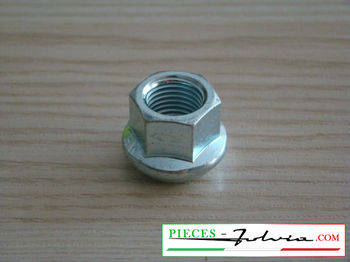 Galvanized steel wheel nut for Lancia Fulvia