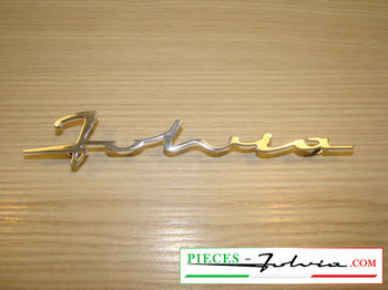 "Script ""Fulvia"" chrome for Lancia Fulvia"