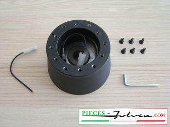 Steering wheel hub for Fulvia serie 1 all models