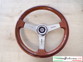 """Classic"" steering wheel in wood MUGELLO"