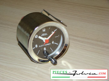 Dashboard clock VEGLIA BORLETTI for Lancia Fulvia coupe serie 2