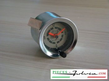 Dashboard clock VEGLIA BORLETTI for Lancia Fulvia coupe serie 3