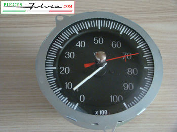 Mechanical rev counter 10.000 rpm Lancia Fulvia series 1 all models