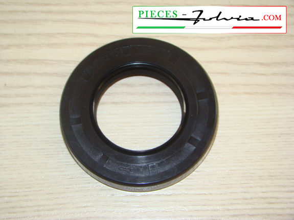 Rotary shaft seal of output of gearbox left side Lancia Fulvia all models