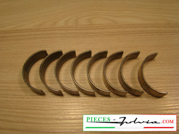 "Set connecting rod bearings -0.2"" (2nd repair dimension) Lancia Fulvia 1600 all models"