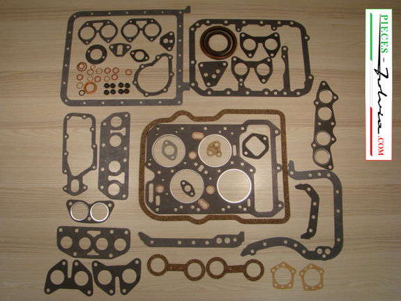 Complete gasket kit version for Lancia Fulvia 1200 all models