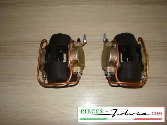 Brake calipers front Lancia Fulvia serie 1 all models