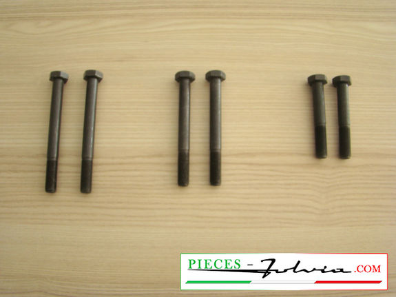 FULL set of screws for fixing subframe Lancia Fulvia all models