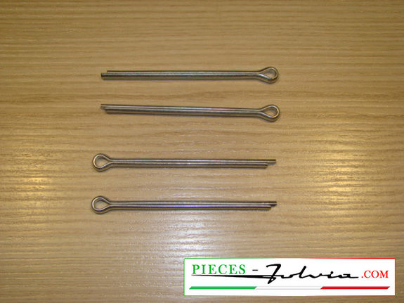 Set of pins retainers for FRONT brake pads Lancia Fulvia serie 2 and 3