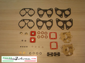 Complete gasket kit for carburetors solex 32 PHH Lancia Fulvia 1200