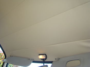 Roof sky WHITE COLOR for Lancia Fulvia coupe serie 1