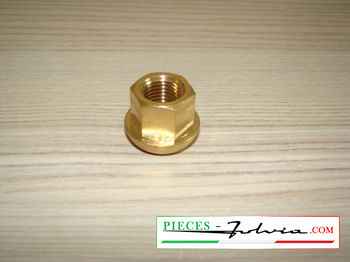 Original brass wheel nut for Lancia Fulvia