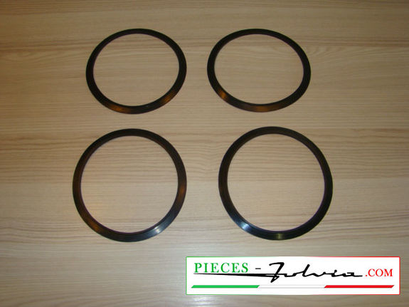 Set of 4 head light seals Lancia fulvia all models