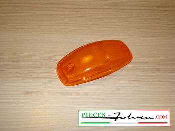 Front turn signal light lense Lancia Fulvia serie 1 all models