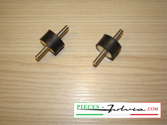 Pair of silent blocks for fuel pump FACET