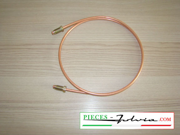 Rigid hose for REAR LEFT caliper alimentation Lancia Fulvia serie 2-3