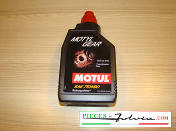 Gearbox oil Motul SAE 75w80 Lancia Fulvia all models
