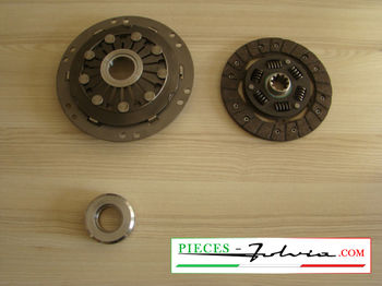 Clutch Kit Ø180mm Lancia Fulvia 4 gears serie 1