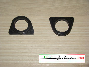 Set of internal seals for license plate lighting Lancia Fulvia serie 1