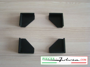 Set of 4 rubber corners under battery Lancia Fulvia all models