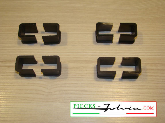 Set of rubbers for rear blade flanges Lancia Fulvia all models