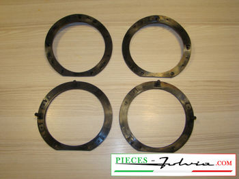 Set of 4 base head light seals Lancia fulvia all models