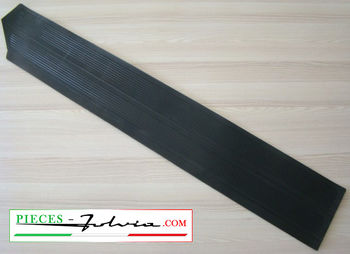 Front lateral right side rubber carpet for Lancia Fulvia coupe serie 1