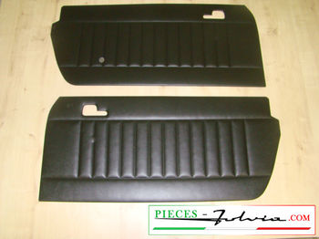 Pair of door panels Fulvia Coupe HF + Montecarlo
