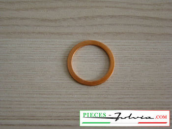 Copper seal for fuel tank plug Lancia Fulvia all models