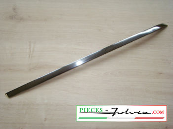 Chrome trim strip under rear LEFT lateral glass Fulvia coupe