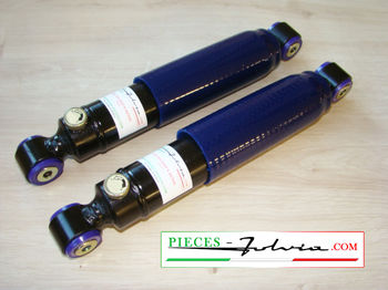 Set of two ADJUSTABLES REAR COMPETITIONshock absorbers Fulvia all models