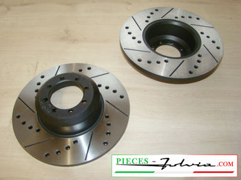 Gr4 FRONT brake discs set Lancia Fulvia serie 2 and 3 all models