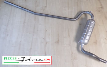 Central exhaust tube Lancia Fulvia 1200-1300 BERLINA serie 2 and 3